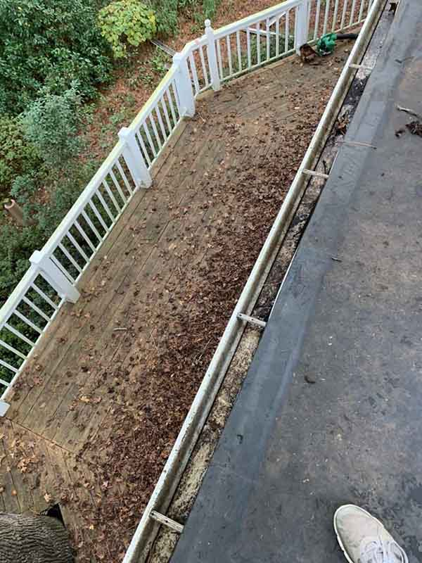 Gutter Guard Installation Aiken SC - Before Photo