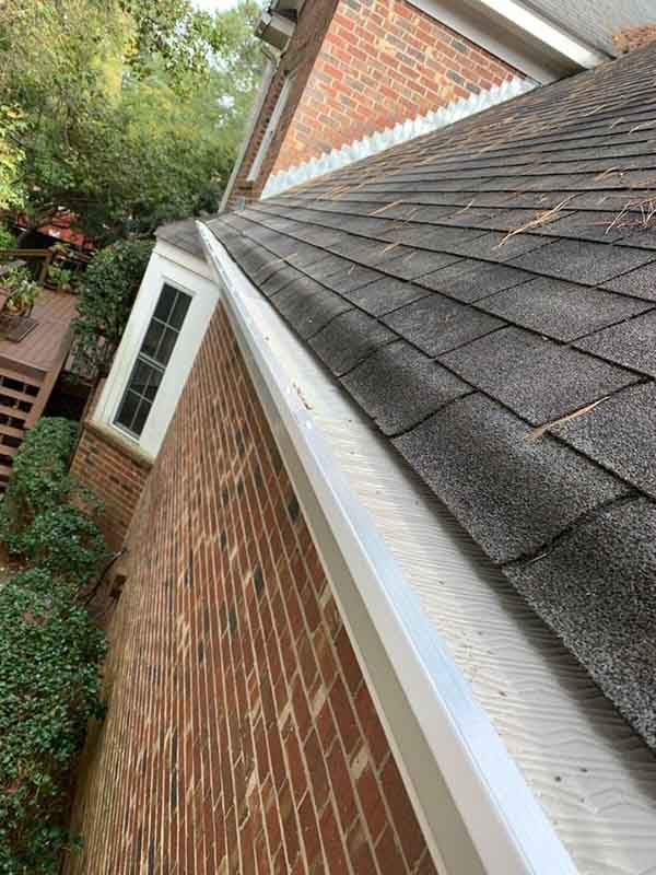 Gutter and Leaf Guard Installation Martinez, GA - After Photo