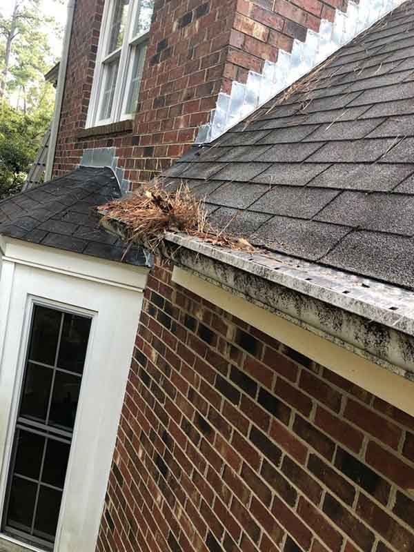 Gutter and Leaf Guard Installation Martinez, GA - Before Photo