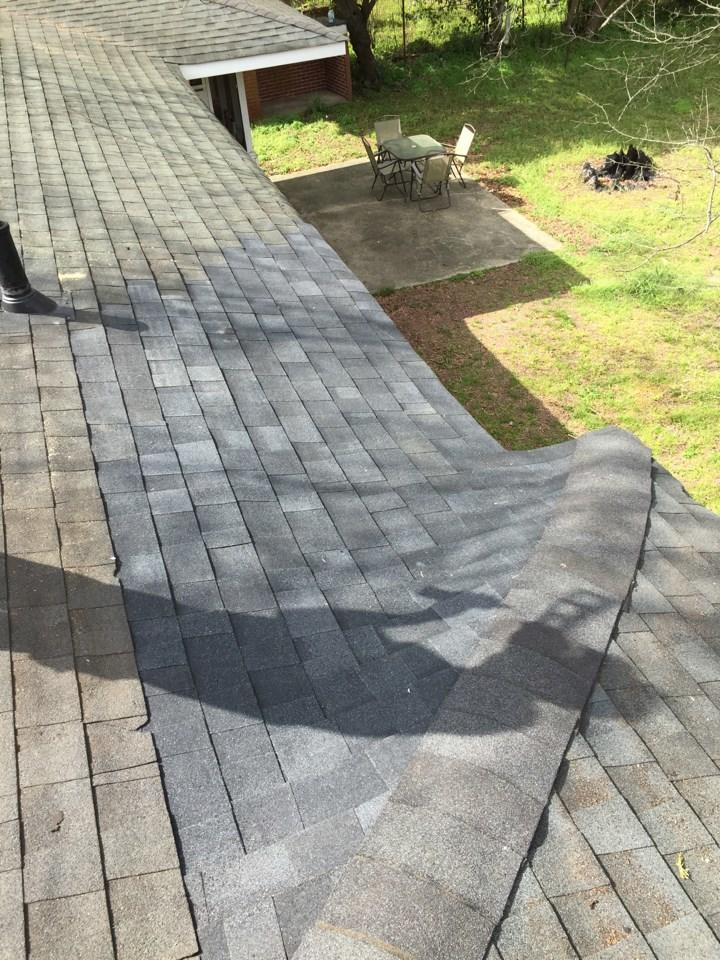Shingle Replacement Roof Repair in Augusta, GA - Before Photo